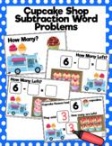 Cupcake Shop Subtraction Word Problems