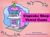 Cupcake Shop Vowel Game