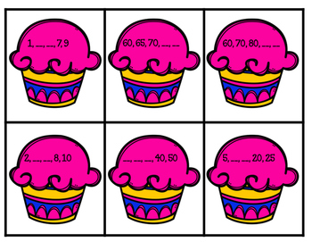 Cupcake Skip Counting