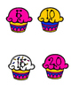 Cupcake Skip Counting by Fives