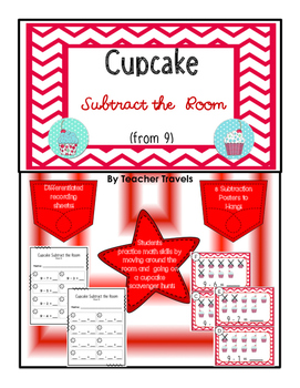 Cupcake Subtract the Room (from 9)