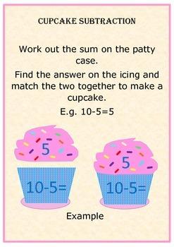 Cupcake Subtraction