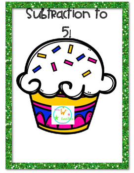 Cupcake Subtraction Matching