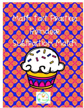 Cupcake Subtraction Matching