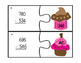 Three-Digit Subtraction With & Without Regrouping: Cupcake