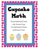 Cupcake Subtraction Timed Math Facts
