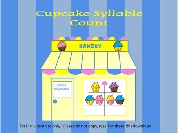 Cupcake Syllable Count