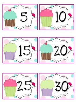 Reading Points by 5s Cupcake Theme