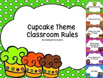 Cupcake Theme Rules