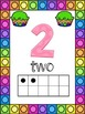 Cupcake Themed 0-20 Numbers Posters
