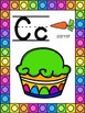 Cupcake Themed Alphabet Posters
