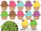 Cupcake Themed Birthday Chart and Birthday Certificate