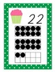 Cupcake Themed Number Wall Posters With Ten Frames, 21-30