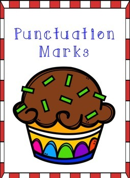 Cupcake Themed - Punctuation Posters