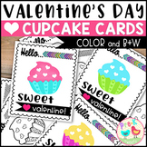 Cupcake Valentines for Students