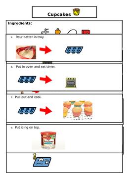 Cupcake Visual Recipe