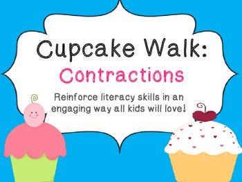 Cupcake Walk- Contractions