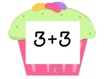 Cupcake Walk- Doubles Addition Facts