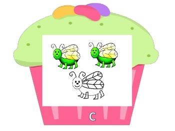 Cupcake Walk- Fractions