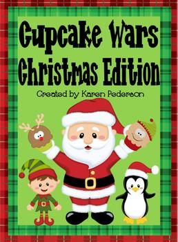 Cupcake Wars Christmas Edition Fraction Mini-Unit