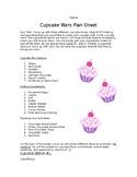 Cupcake Wars Plan Sheet