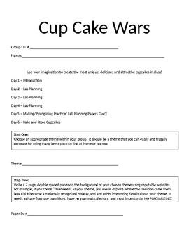 Cupcake Wars Project