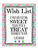 Cupcake Wish List ( Orientation, Open House, Teacher Night