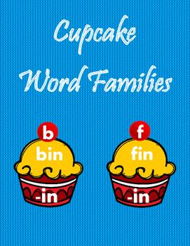 Cupcake Word Families