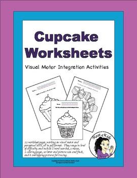 Cupcake Worksheets