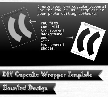 Cupcake Wrapper Template DIY