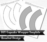 Cupcake Wrapper Template DIY