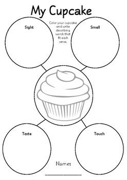 Cupcake Writing Prompt