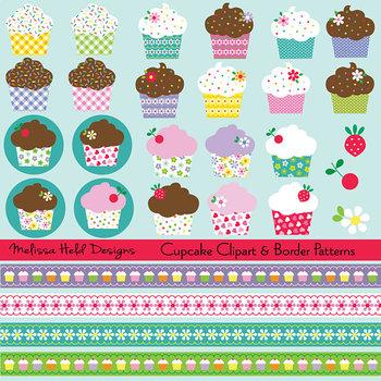 Clipart: Cupcake Clip Art