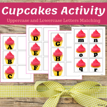 Cupcakes Activity for Birthday or Valentine`s Day