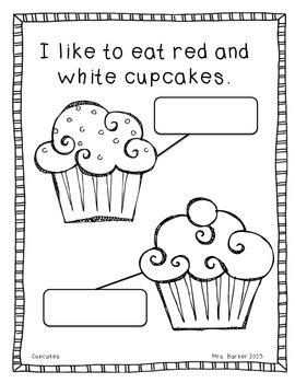Cupcakes {An Emergent Reader}