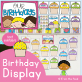 Birthday Display Cupcakes Posters Pack {Cupcakes}