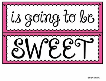 Cupcakes Bulletin Board Set {Sweet Grade}