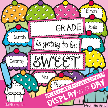 Cupcakes Bulletin Board Set {Sweet Grade}