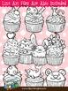 Cupcakes Clip Art Collection