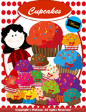 Cupcakes Clip Art into Your work.