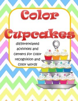 Cupcakes Color Recognition Centers and Games
