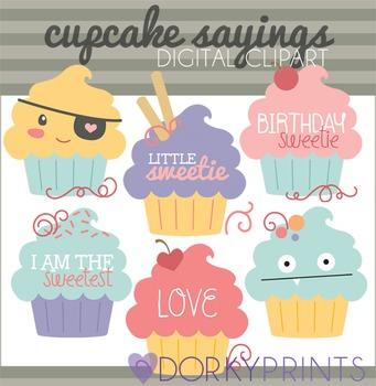 Cupcakes Digital Clip Art