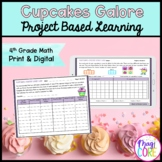 Cupcakes Galore! Project Learning - 4th - Printable & Goog