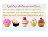 Sticker Charts - Cupcakes