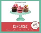 Cupcakes - Secondary Reward - Food - VIPKid, Gogokid, Magic Ears, ESL