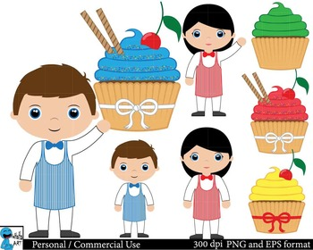 Cupcakes Set Clipart Digital Clip Art Graphics 28 images cod9