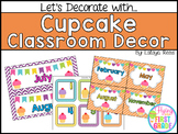 Cupcake Classroom Decor
