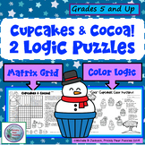 Cupcakes and Cocoa Logic Puzzles,  Brain Teasers, Rainy Day Recess, Thinkers