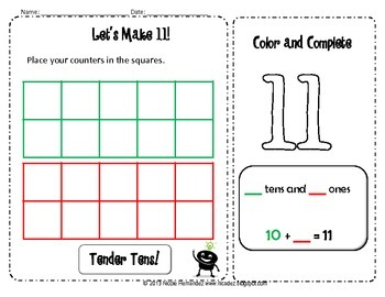 Number Sense - {Number Activities for Kindergarten}