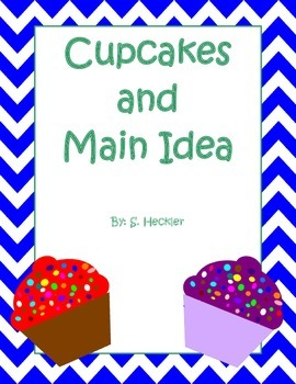Cupcakes and Main Idea